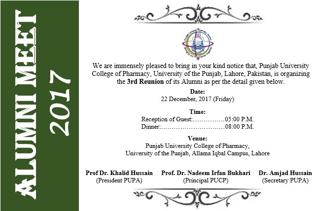 PUCP - Punjab University College of Pharmacy